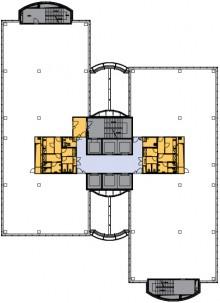 typické podlaží 4-11. patro